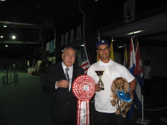 Con Néstor Frascino Presidente de FCA