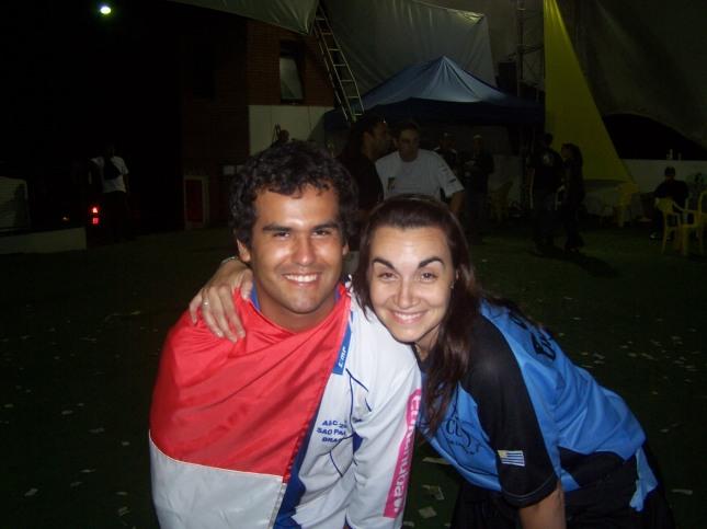 Celebrando con Cathy de Uruguay