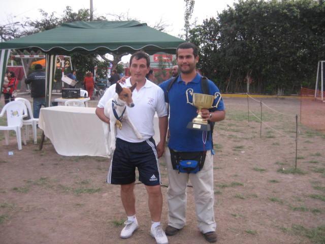 Celebrando con Jose los exitos obtenidos con Lucas en el Sicalam
